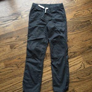Nwot 6-7 pull on gray pants